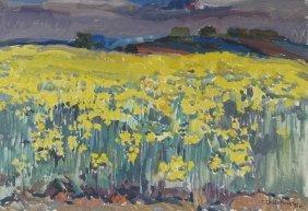 Stanislav Marianovich Servrtnik Flower Painting 2