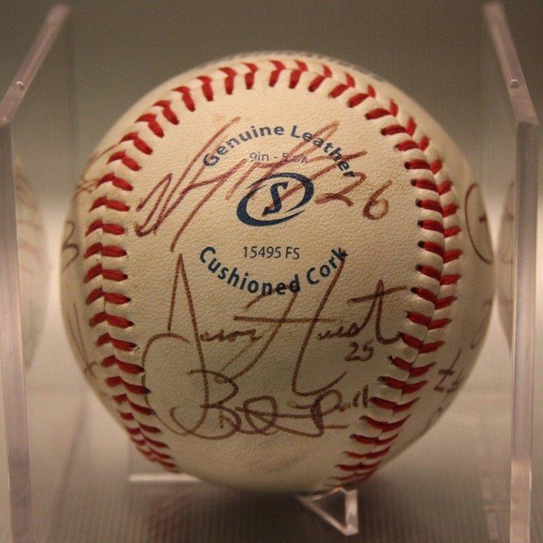Wareham Gateman Team Signed Baseball
