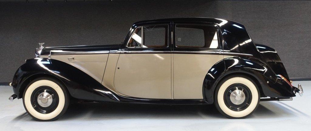 1949 Bentley Mark VI Standard Saloon Automobile