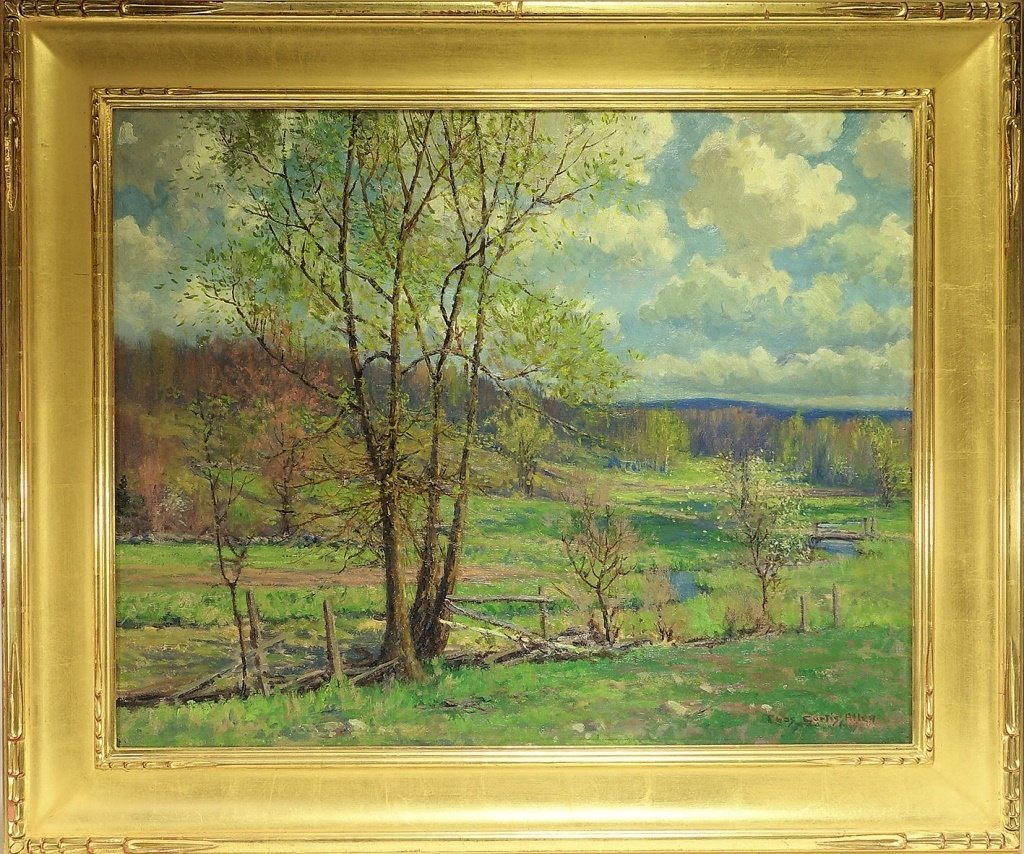 Charles Curtis Allen New England Spring Painting