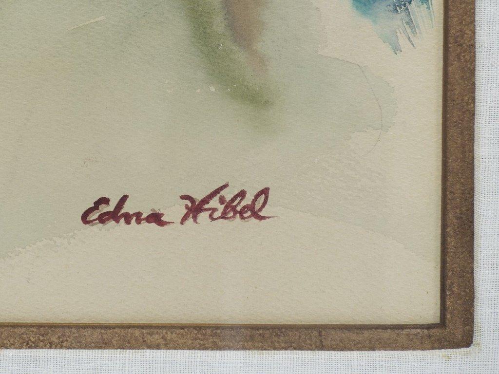 Edna Hibel Rhode Island Portrait Painting of Boy - 4