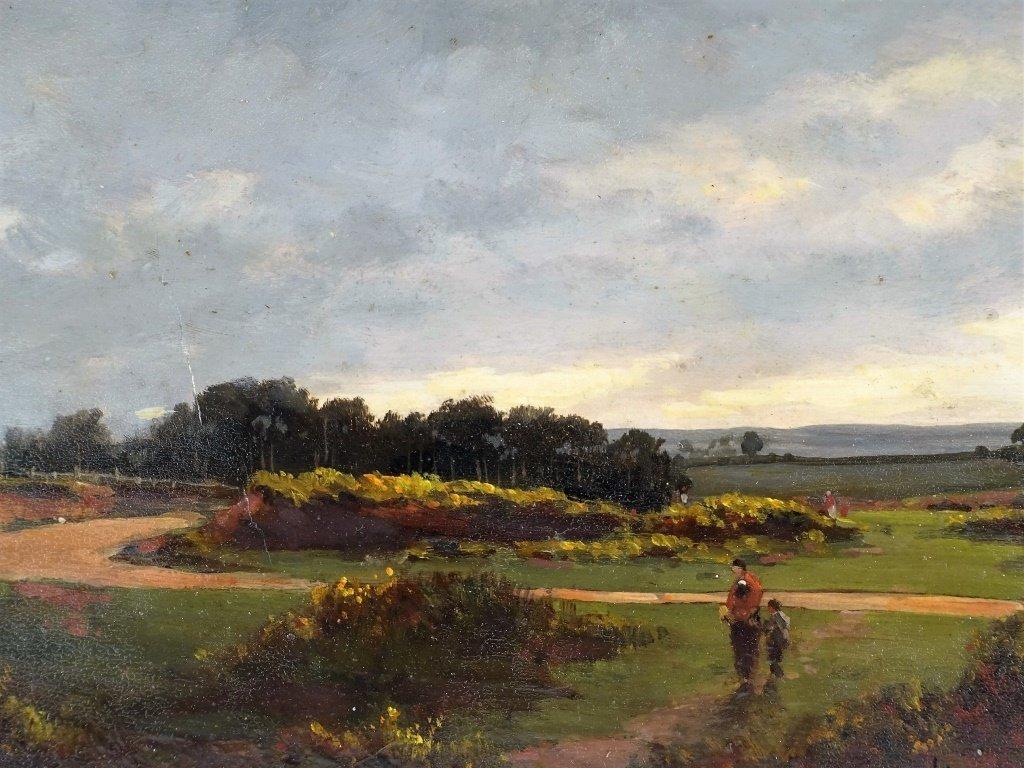John Appleton Brown Rural Genre Landscape Painting - 2