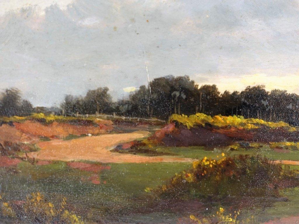 John Appleton Brown Rural Genre Landscape Painting - 4