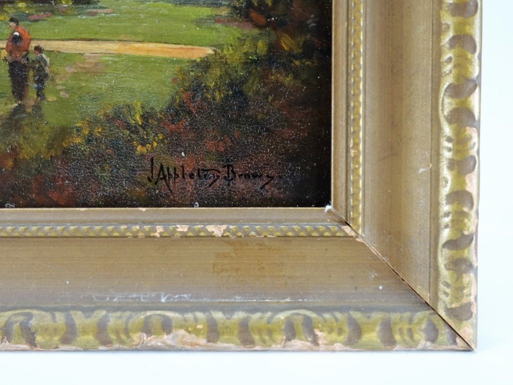John Appleton Brown Rural Genre Landscape Painting - 5