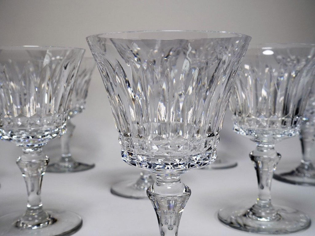 Set of 6 French Baccarat Massena Champagne Flutes - 5
