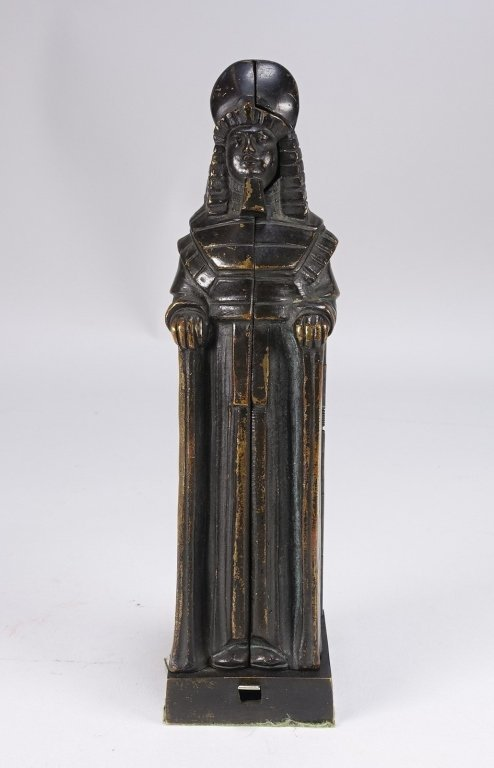 German Princess Aida Mechanical Gilt Bronze
