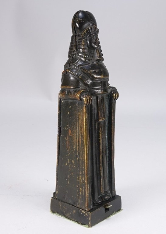 German Princess Aida Mechanical Gilt Bronze - 3