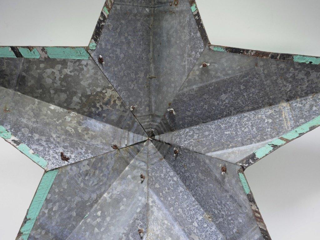Vintage Sheet Steel Americana Star Sculpture - 5