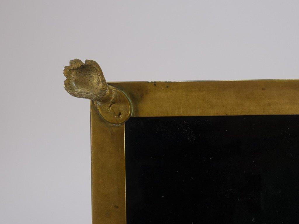 French Amethyst Glass Gilt Bronze Mount Cache Pot - 7