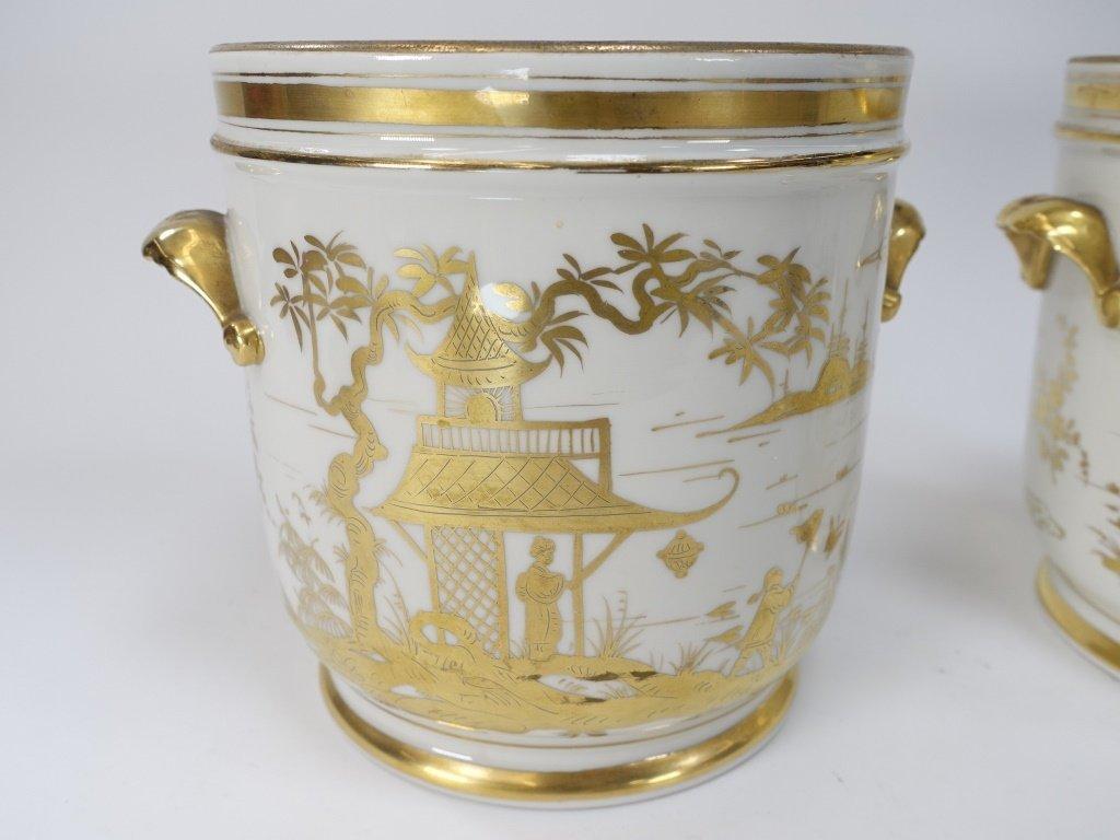 PR French Chinoiserie Samson Porcelain Cache Pot - 2