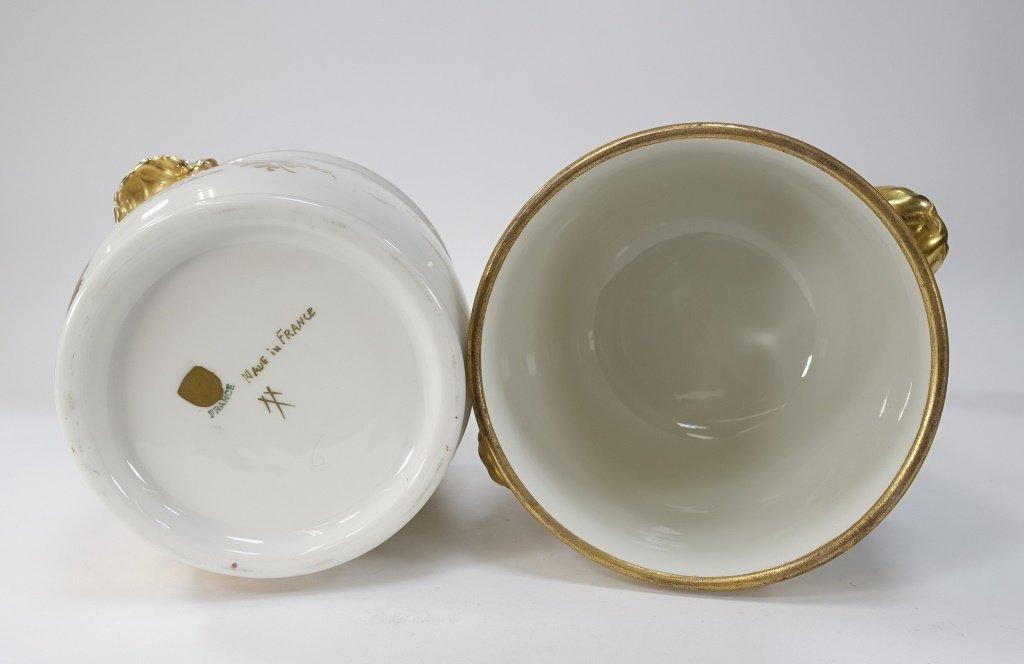 PR French Chinoiserie Samson Porcelain Cache Pot - 6