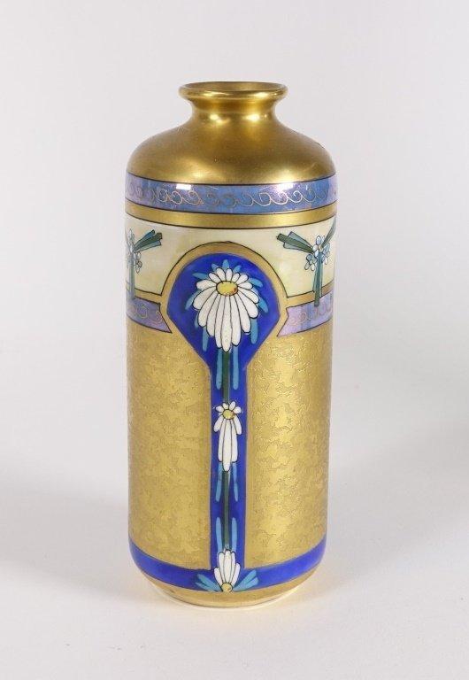 Pickard China Edgerton Gilt Vase