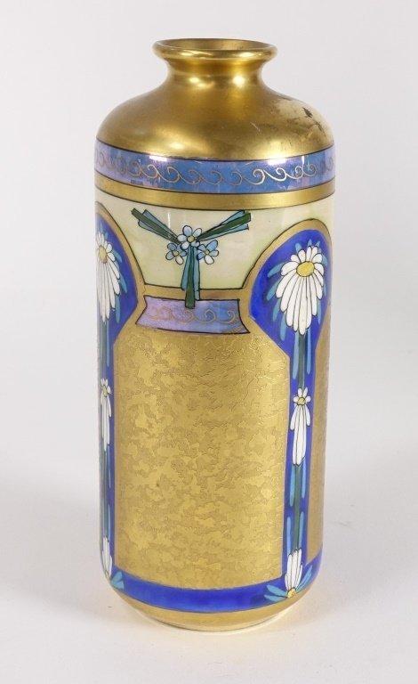Pickard China Edgerton Gilt Vase - 2