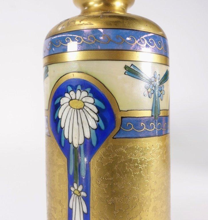 Pickard China Edgerton Gilt Vase - 4