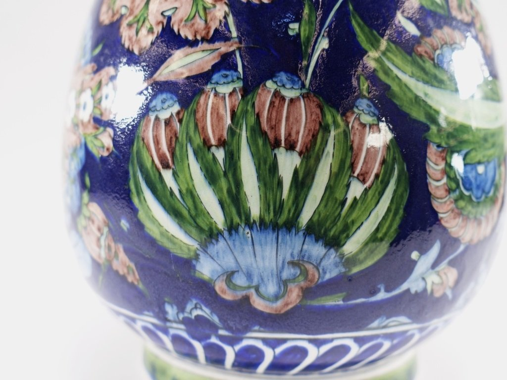 William De Morgan for Cantagalli Iznik Vase - 10