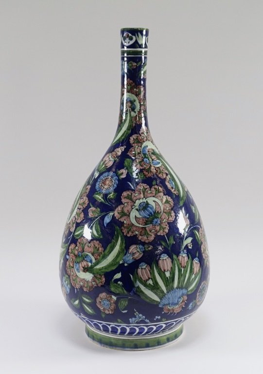 William De Morgan for Cantagalli Iznik Vase