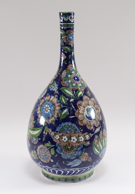 William De Morgan for Cantagalli Iznik Vase - 3