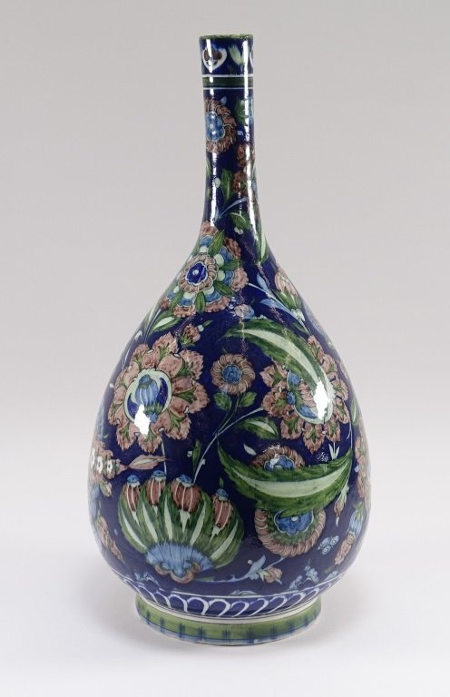William De Morgan for Cantagalli Iznik Vase - 4