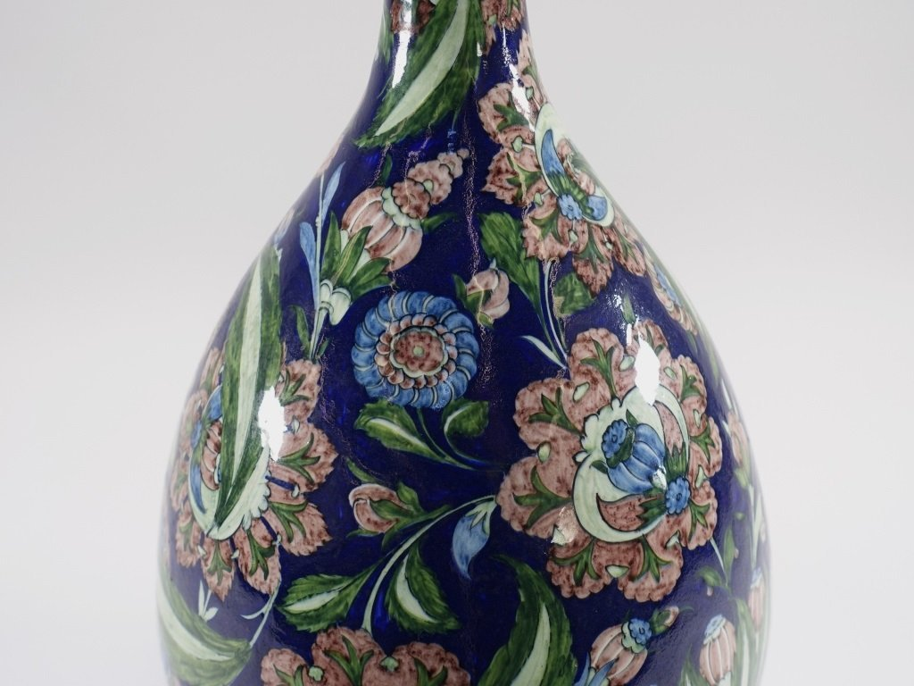 William De Morgan for Cantagalli Iznik Vase - 6