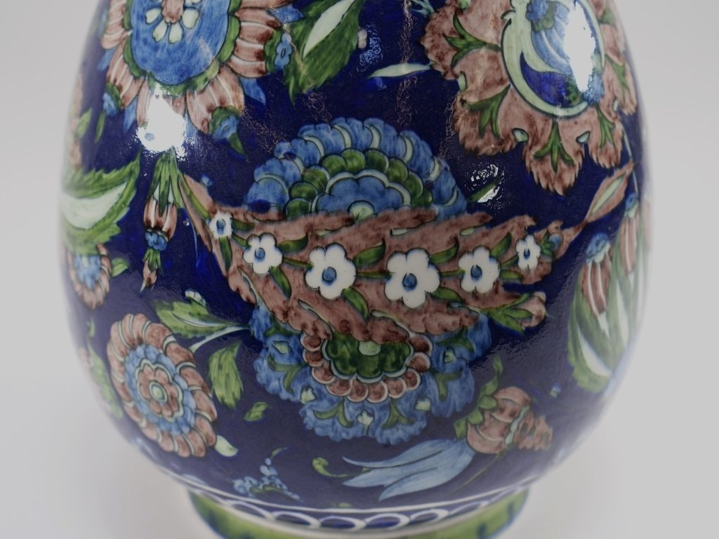 William De Morgan for Cantagalli Iznik Vase - 8
