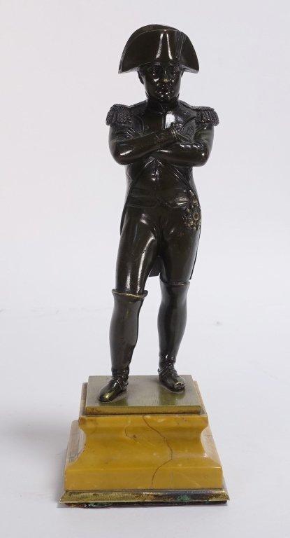 French Bronze Figure of Standing Napoleon
