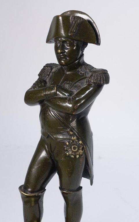 French Bronze Figure of Standing Napoleon - 2