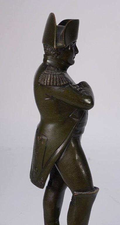 French Bronze Figure of Standing Napoleon - 3