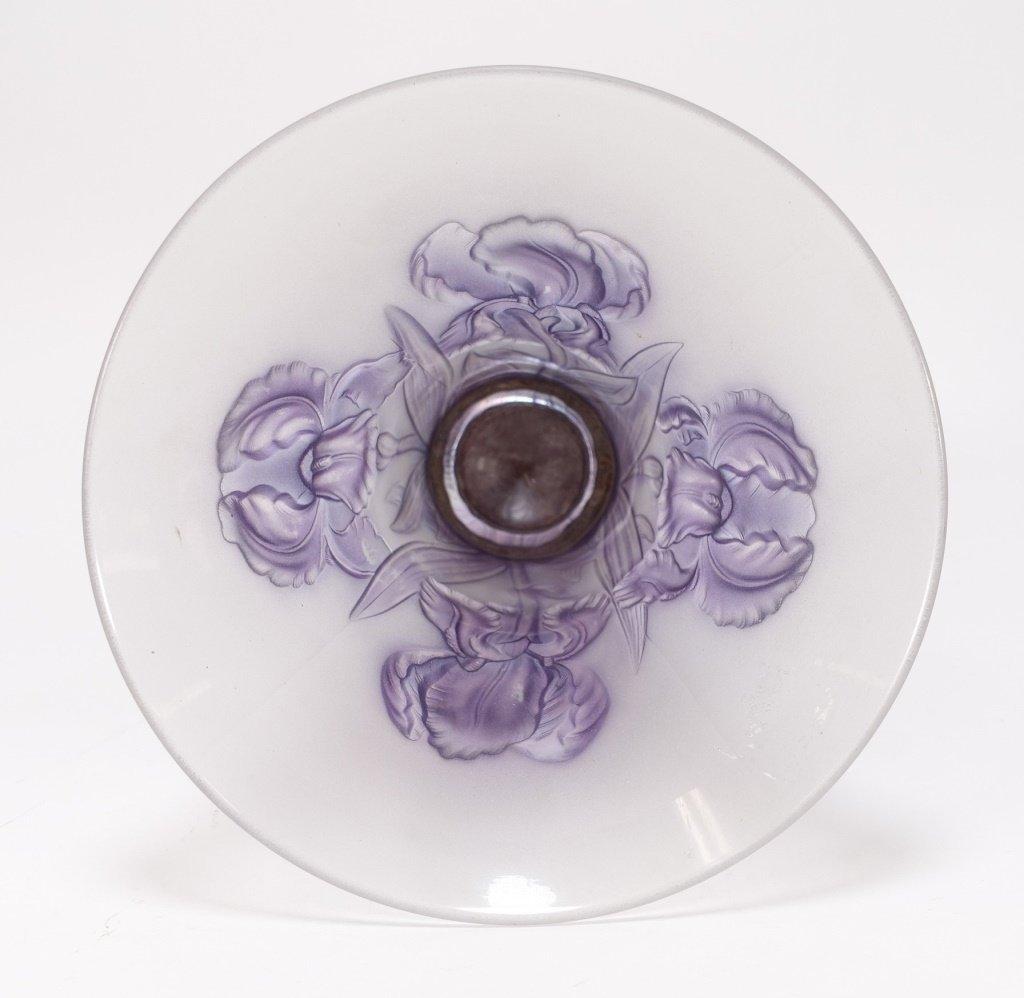 Josef Inwald Weil Barolac Satin Glass Iris Vase - 4