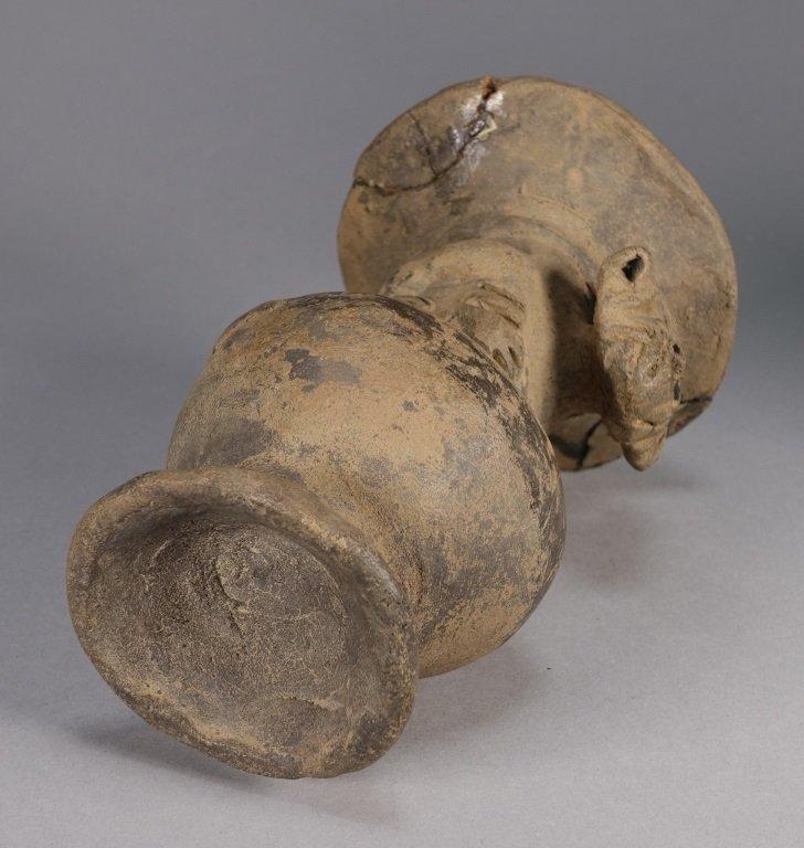 Pre Columbian Peruvian Chimu Monkey Vase - 6