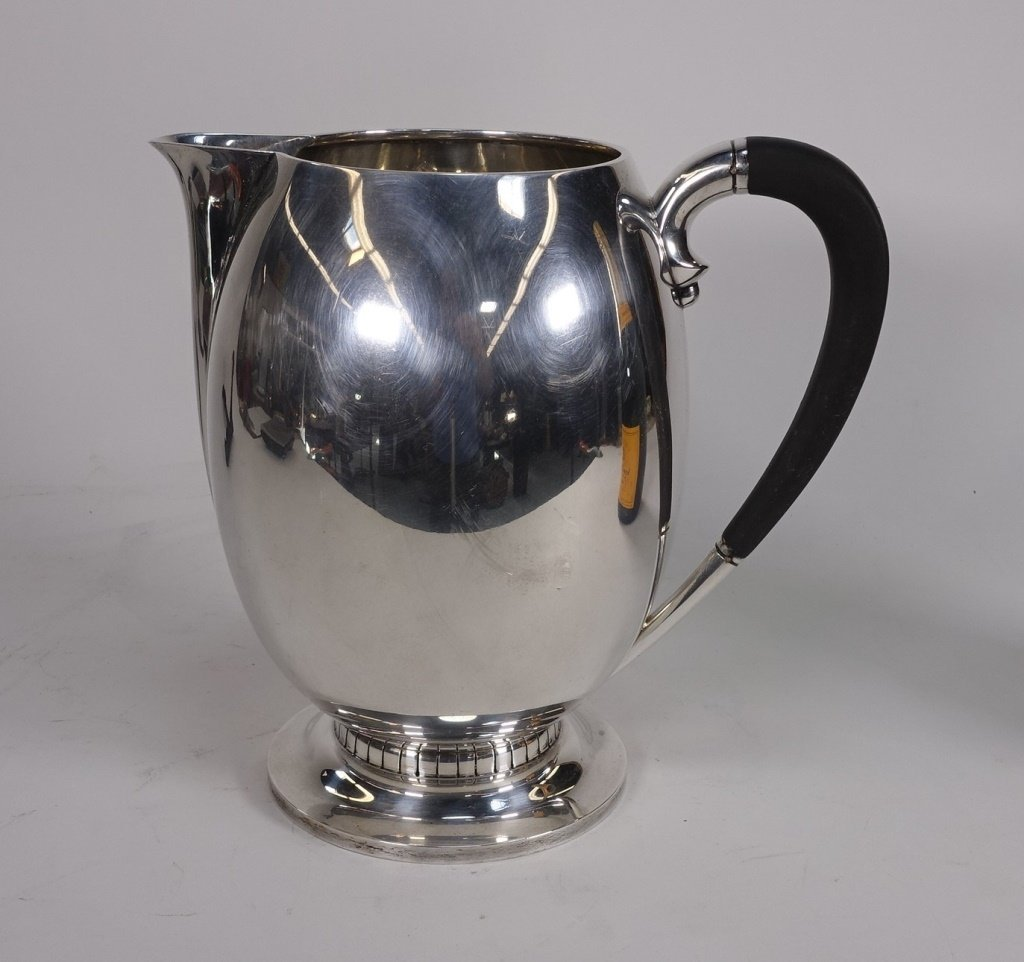 Tuttle Silversmiths Arts & Crafts Sterling Pitcher