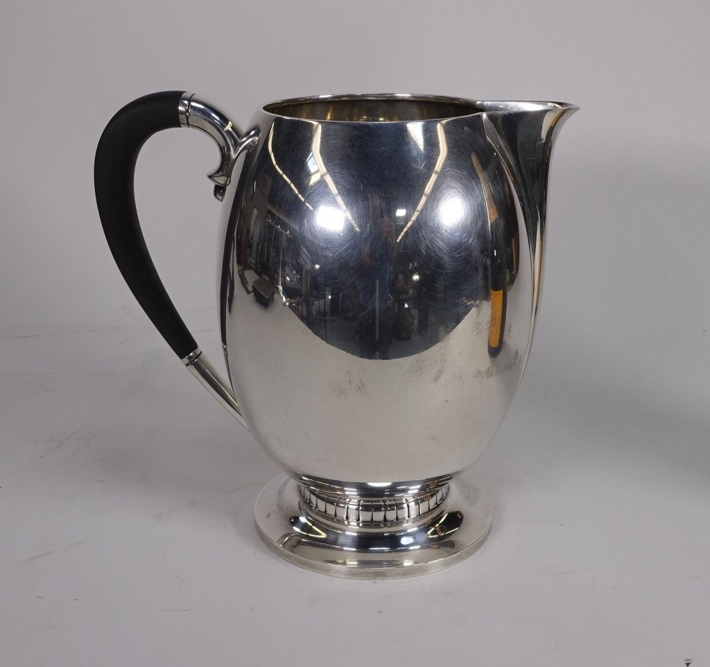 Tuttle Silversmiths Arts & Crafts Sterling Pitcher - 2