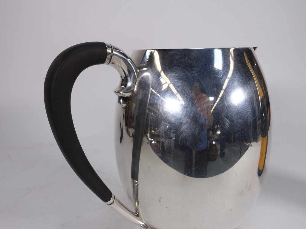 Tuttle Silversmiths Arts & Crafts Sterling Pitcher - 3