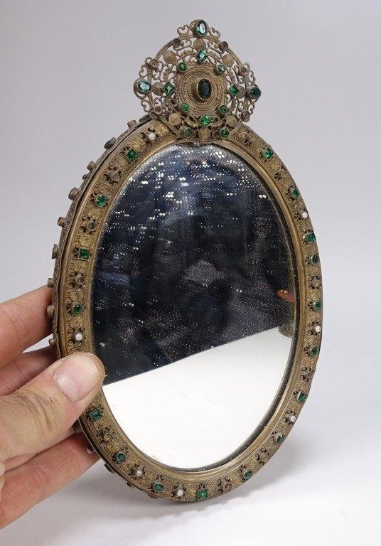 Czechoslovakian Brass Jeweled Estate Collection - 2