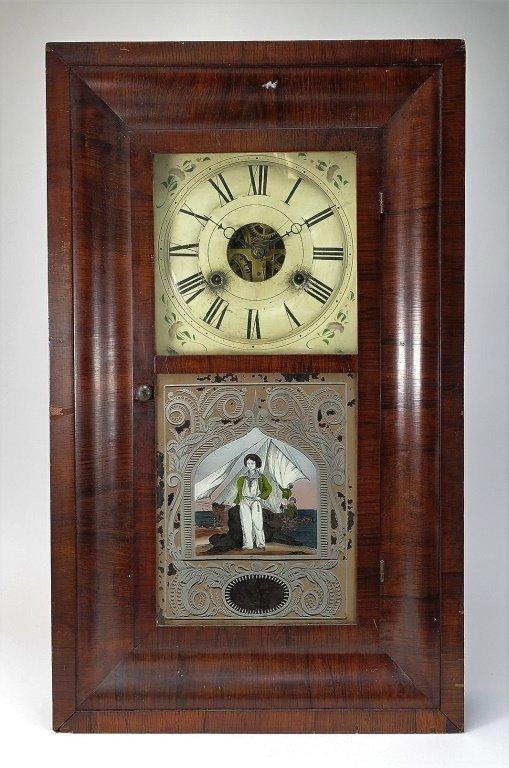 1872 Seth Thomas Painted Nautical Ogee Clock