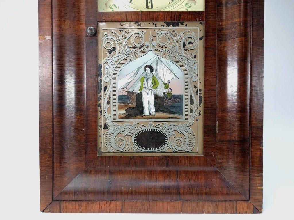1872 Seth Thomas Painted Nautical Ogee Clock - 2