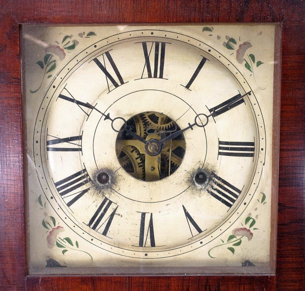 1872 Seth Thomas Painted Nautical Ogee Clock - 4