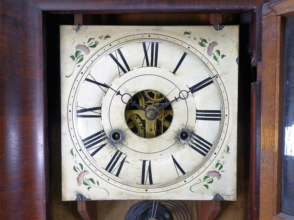 1872 Seth Thomas Painted Nautical Ogee Clock - 6