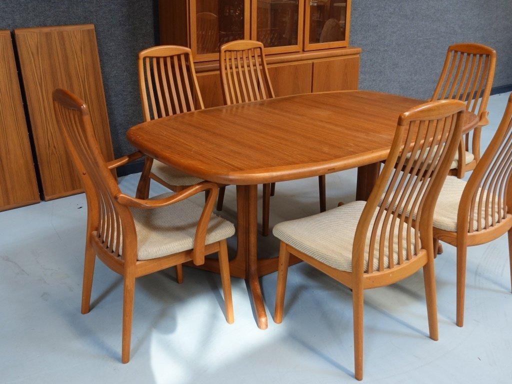 Preben Schou Danish Modern Teak Dining Room Set - 2