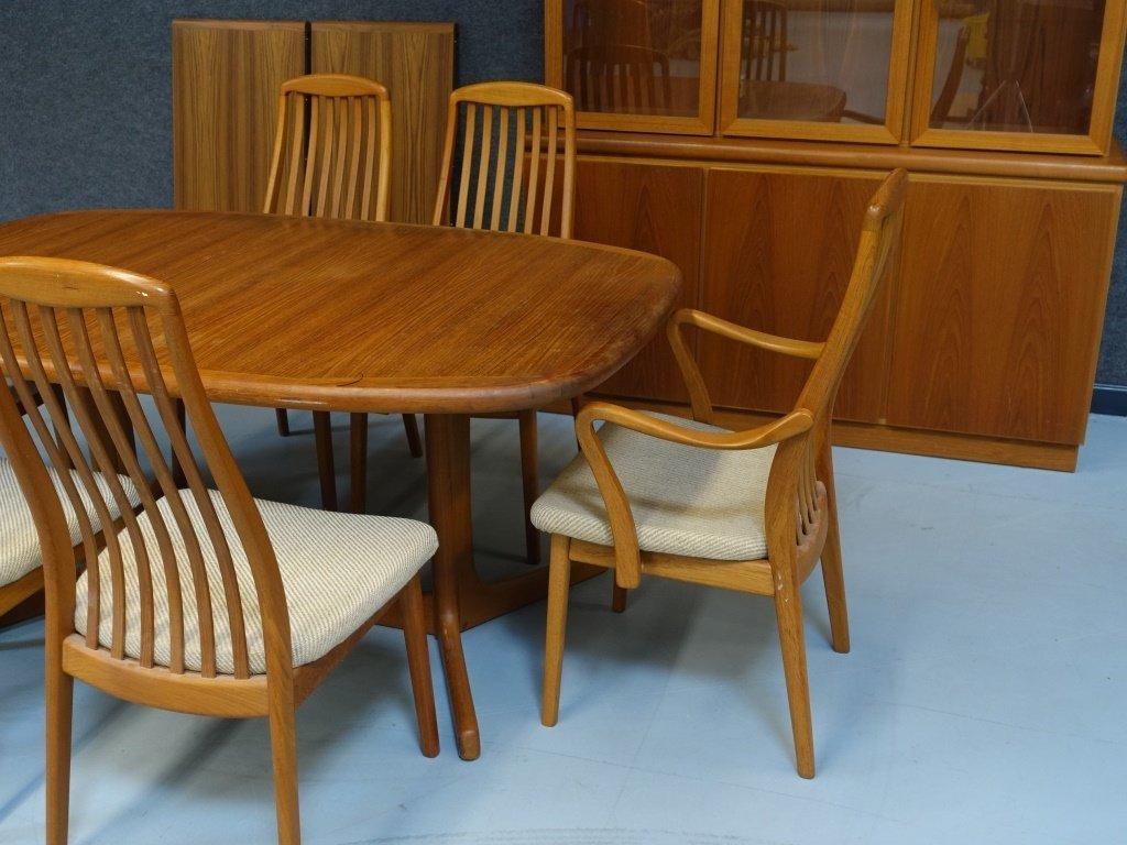 Preben Schou Danish Modern Teak Dining Room Set - 3