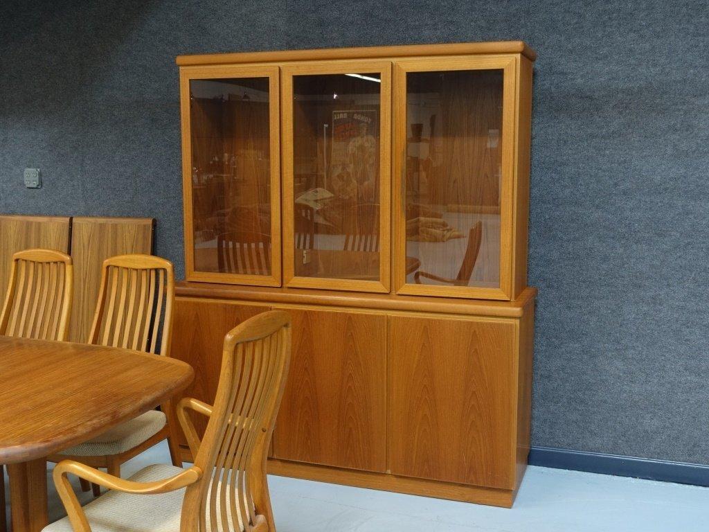 Preben Schou Danish Modern Teak Dining Room Set - 4