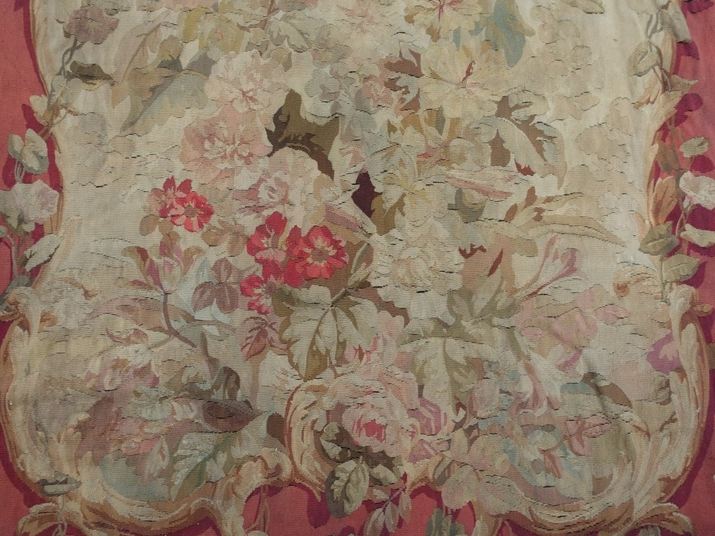 PR Large French Aubusson Textile Tapestries - 2