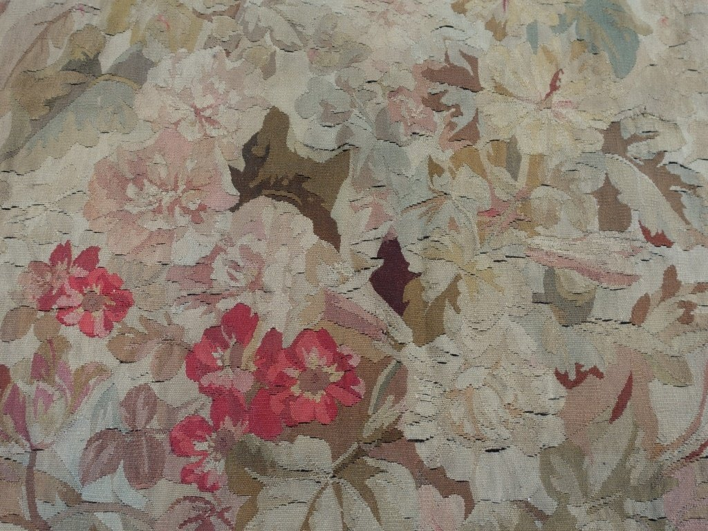 PR Large French Aubusson Textile Tapestries - 3