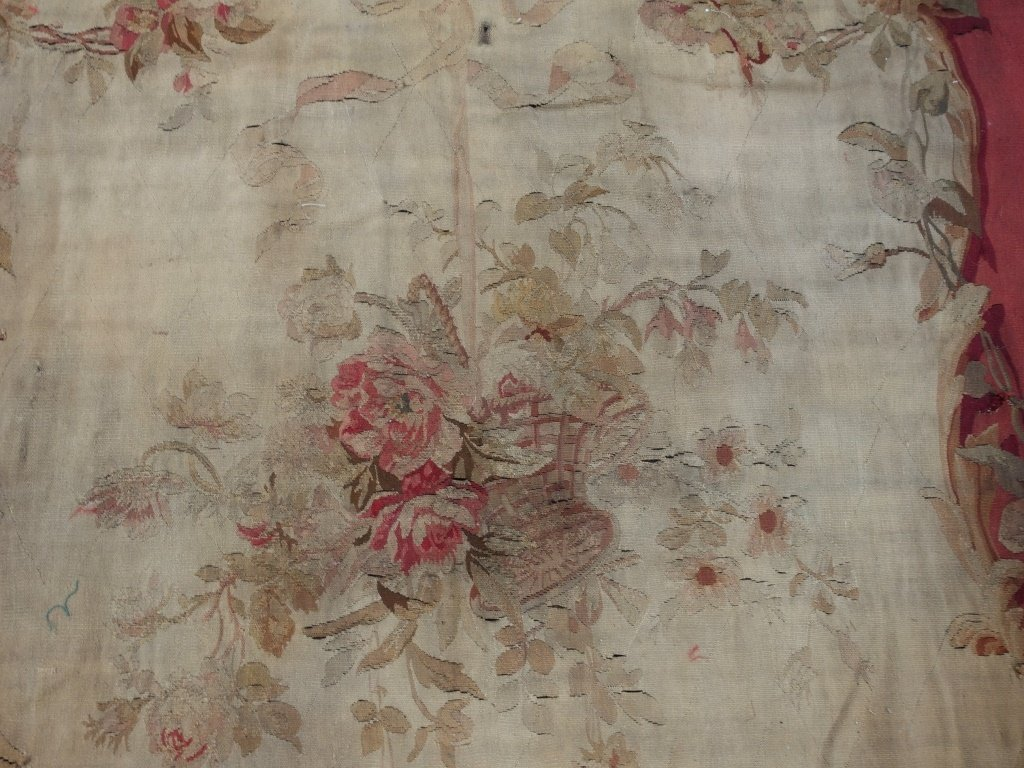 PR Large French Aubusson Textile Tapestries - 4