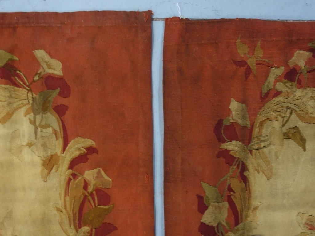 PR Large French Aubusson Textile Tapestries - 5