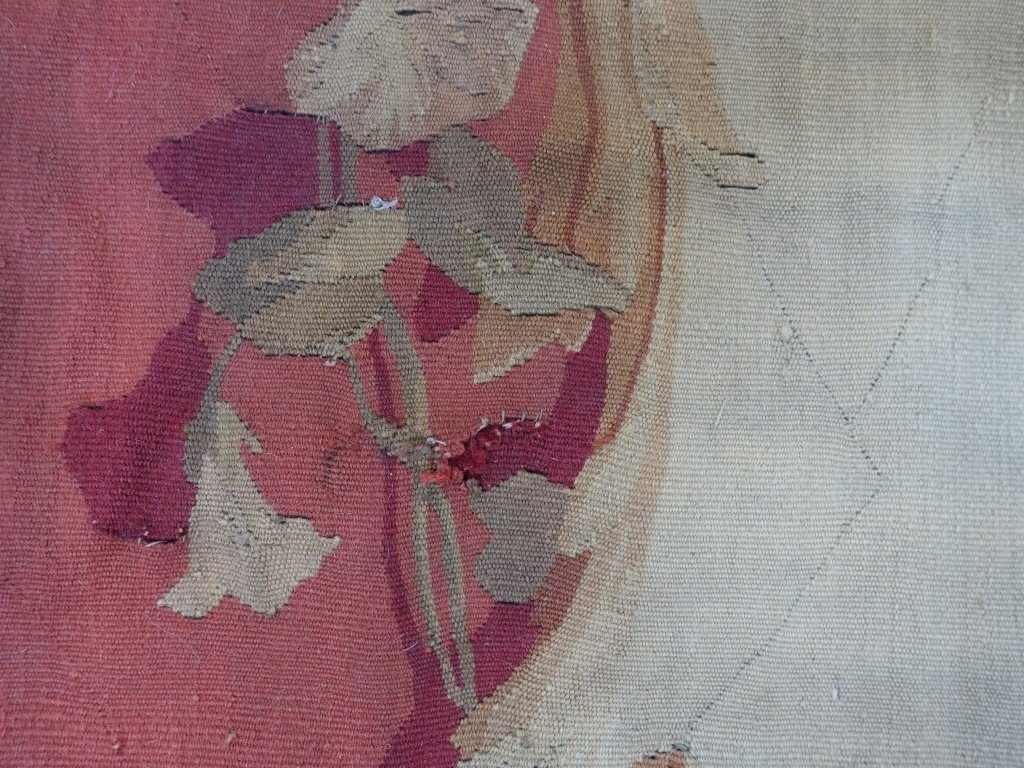 PR Large French Aubusson Textile Tapestries - 9