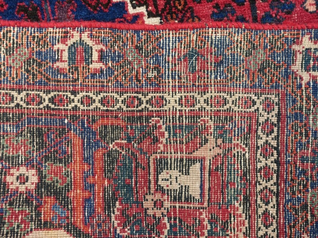 Persian Joshegan Sarouk Room Size Carpet - 8