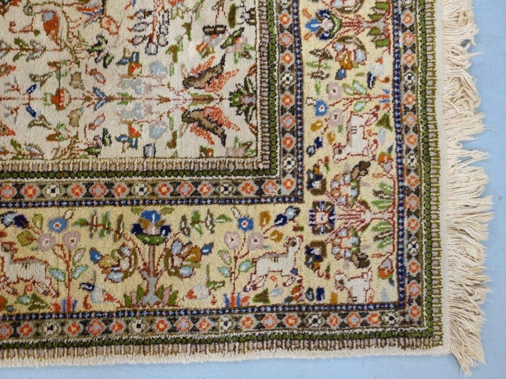 Persian Tabriz Carpet Rug - 4