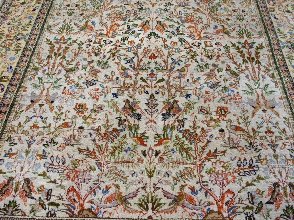 Persian Tabriz Carpet Rug - 5