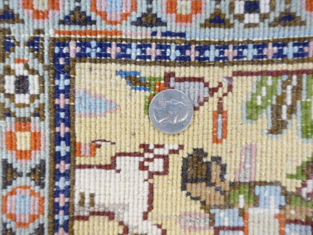 Persian Tabriz Carpet Rug - 7