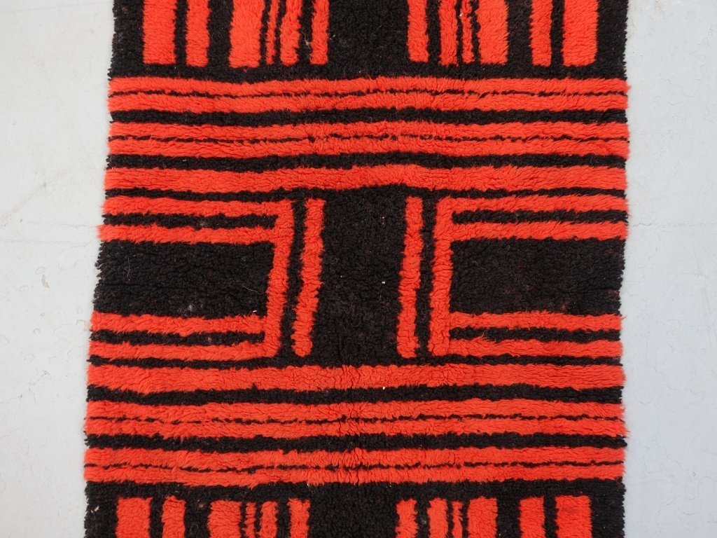 Mid Century Modern Shag Small Carpet - 2